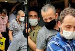 Polis şaşkına döndü Esenyurtta 14 kişilik bir minibüsten 42 kişi çıktı