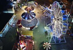Lunapark ve tematik parklar 4 ay sonra yeniden kapılarını açtı