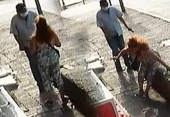 Beyoğlunda emniyet müdürlüğü önünde kadına silahlı saldırı