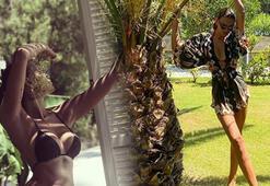 Emina Jahovic bikinili pozunu paylaştı