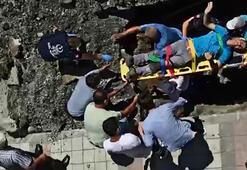 Sultangazide göçük altındaki işçi kurtarıldı
