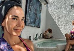 Ebru Şahinden sıfır makyaj tatil pozu