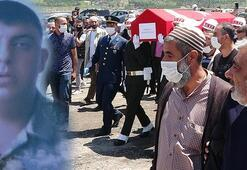 Kalp krizinden yaşamını yitiren er, Erzurumda toprağa verildi