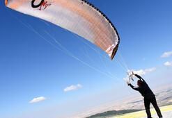 Yamaç paraşütçülerinin rotası Hasan Dağı