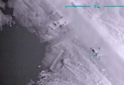 UMHye ait SİHAlar Rus paralı askerlere ait savunma sistemini imha etti