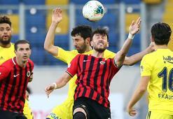 Gençlerbirliği-Fenerbahçe: 1-1