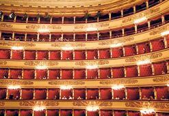 La Scala'da mesafeli konser