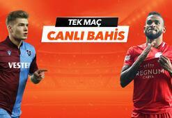 Trabzonspor - Antalyaspor maçı heyecanı Tek Maç ve Canlı Bahis seçenekleriyle Misli.com'da