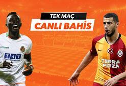 Alanyaspor - Galatasaray maçı heyecanı Tek Maç ve Canlı Bahis seçenekleriyle Misli.com'da