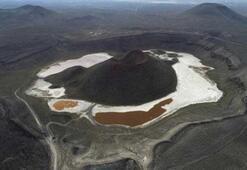 Dünyanın nazar boncuğuydu Meke Gölü kurudu