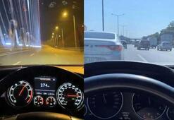 İstanbul'da trafik magandaları işbaşında Drift, makas ve hız terörü kamerada