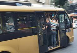 Uyarılar fayda etmedi İstanbulda minibüsler tıka basa doldu