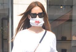 Aynur Aydından rujlu maske