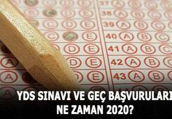 2020 YDS sınavı ne zaman yapılacak YDS geç başvuruları ne zaman