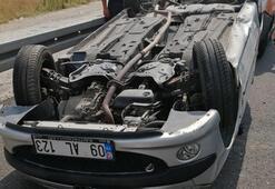 Nazilli-Denizli karayolunda kaza 3 kişi yaralandı