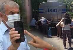 Şilede su dağıtan tankeri fotoğraflayan eski muhtar konuştu: 5 Temmuz pazar günü çektim