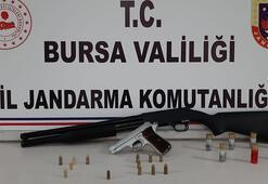 Bursada silah kaçakçılarına operasyon: Gözaltılar var