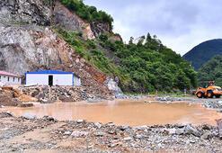 Trabzonda şiddeti yağış