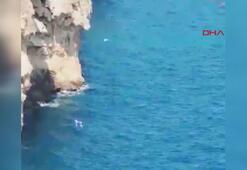 İddia sonucu denize atlayan Rus genç hayatını kaybetti