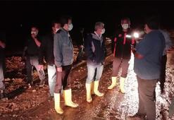 Kırşehirde sel AFAD olay yerine koştu