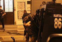 İstanbulda eş zamanlı terör operasyonu Gözaltılar var