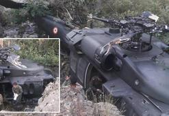 Bingölde askerleri taşıyan helikopter, arıza nedeniyle zorunlu iniş yaptı