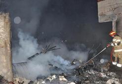 Bursa Karacabeyde yangın çıktı