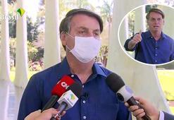 Gazeteciler, basın toplantısında maskesini çıkaran Bolsonaroya dava açıyor