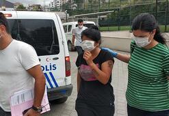 Genç kadın uyuşturucu ticaretinden yakalandı