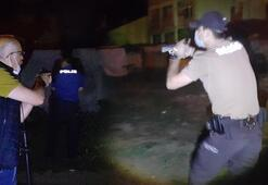 Kavga ettiği kişilerin üzerine ateş açtı Polis eve baskın yaptı