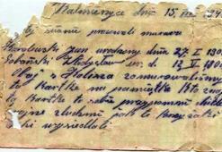 İkinci Dünya Savaşına ait şişeye gizlenmiş mektup bulundu