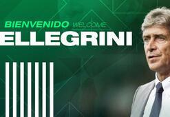 Son dakika | Real Betiste Manuel Pellegrini dönemi resmen başladı