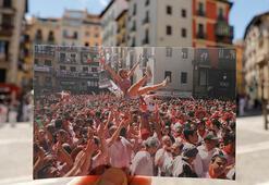 Pamplonaya San Fermin Festivali gerçekleşmeyince sessizlik hakim