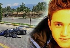 Ehliyetsiz ve kasksız motosikletli genç hayatını kaybetti