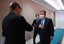 Sağlık Bakanı Koca, DSÖ Avrupa Bölge Direktörü Kluge ile bir araya geldi