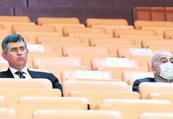 Feyzioğlu baro görüşmesini Meclis locasından izledi
