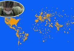 Son dakika: Güncel koronavirüs tablosu Dünyayı tir tir titretti...