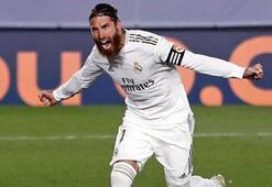 Sergio Ramos bu kez de bir forvet gibi kafayla gol attı