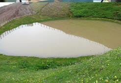 Gümüşhane'deki Dipsiz Göl, eski haline döndü