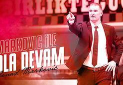 Gaziantep Basketbol, Markovicin sözleşmesini uzattı