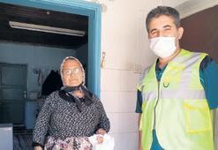 5 bin çınara hijyen paketleri dağıtılıyor