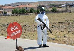 Şanlıurfada 120 eve corona virüs karantinası