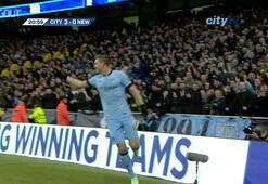 David Silvanın, Newcastlea attığı görkemli goller