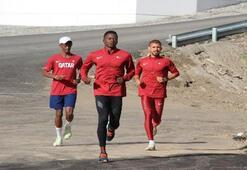 Katarlı atletler Palandökene hayran kaldı
