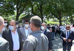 İstanbul İl Emniyet Müdürü Zafer Aktaş Ayasofya önünde incelemelerde bulundu