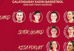Galatasaray Kadın Basketbol Takımı yeni sezon kadrosunu tamamladı