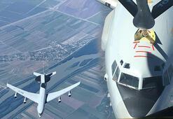 Son dakika: MSB görüntüleri paylaştı NATO uçağına yakıt ikmali