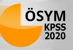 KPSS başvuru tarihleri 2020 - KPSS ortaöğretim, lisans, ÖABT, önlisans, DHBT sınav tarihleri