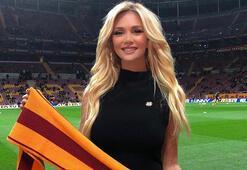 Rus güzel Victoria Lopyreva, tatil için Antalyaya geldi