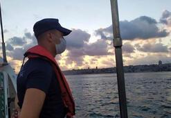 İstanbul Boğazında corona virüs denetimi Tekneler tek tek incelendi